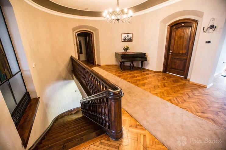 Das Schloss Banaterra aus Srpska Crnja