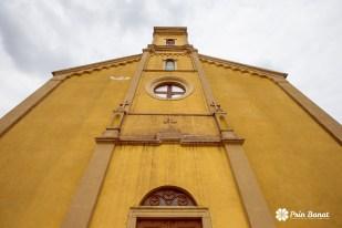 Biserica romano-catolică din Gottlob. Copyright: Prin Banat 2014-2015. TOATE DREPTURILE REZERVATE