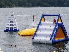 SANDBANKS WATERPARK SEA DOO JET SKI PONTOON BOAT RENTALS CAMPING SUMMER DAY CAMP COTTAGE RENTALS