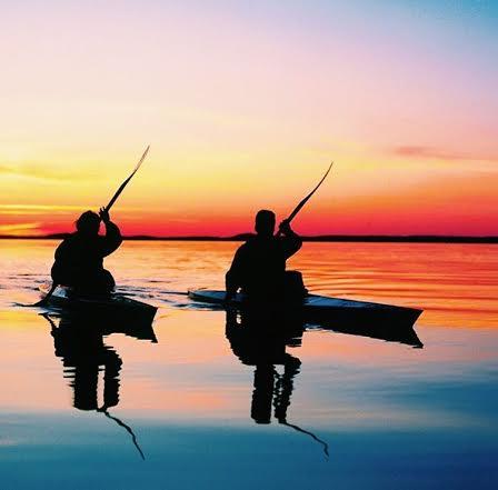 Kayak-Sunset