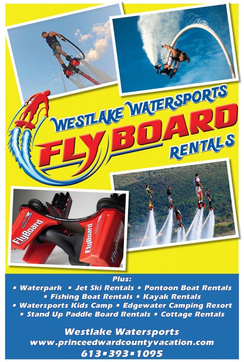 Westlake Watersports - Flyboard Poster.indd