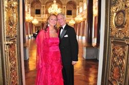Dr. Gertraud-Antonia & her husband HH. Prince Waldemar