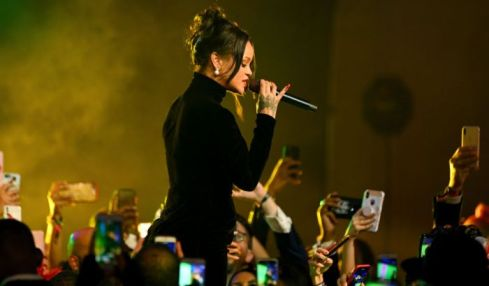 PHOTOS: Did Rihanna Just Hint That She's PREGNANT at the Diamond Ball? Cardi B & Offset, and Normani in Attendance