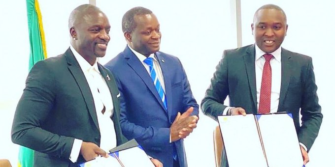 """Akon Gets A City Named After Him.... """"Plans to turn it into A Tax-Fee Wakanda!"""""""