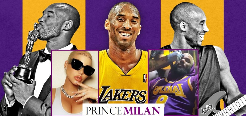 Amber Rose & The Game Pays Tribute to Kobe Bryant by Getting Their Face Tatted
