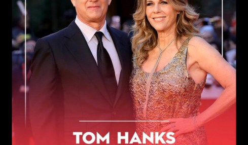 Actor Tom Hanks and Wife Rita Wilson Tested Positive for Coronavirus