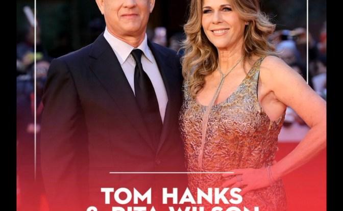 Actor Tom Hanks and Wife Rita Wilson Tested Positive for Coronavirus