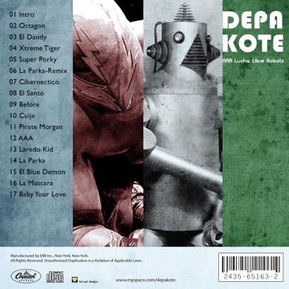 album depakote - lucha libre robots 02