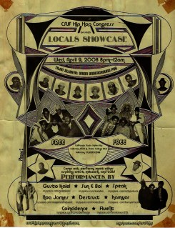 flyer local show