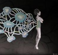 paper ballerina organism