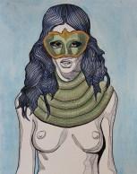 water snake scarf