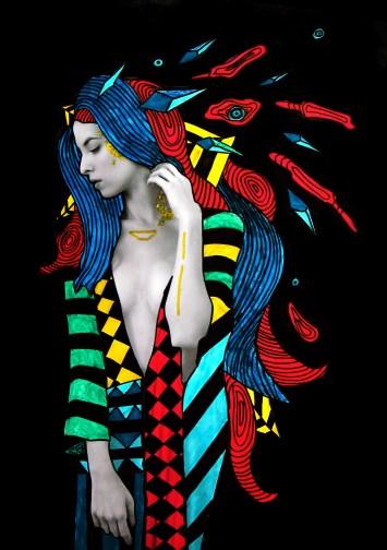 hippie gown