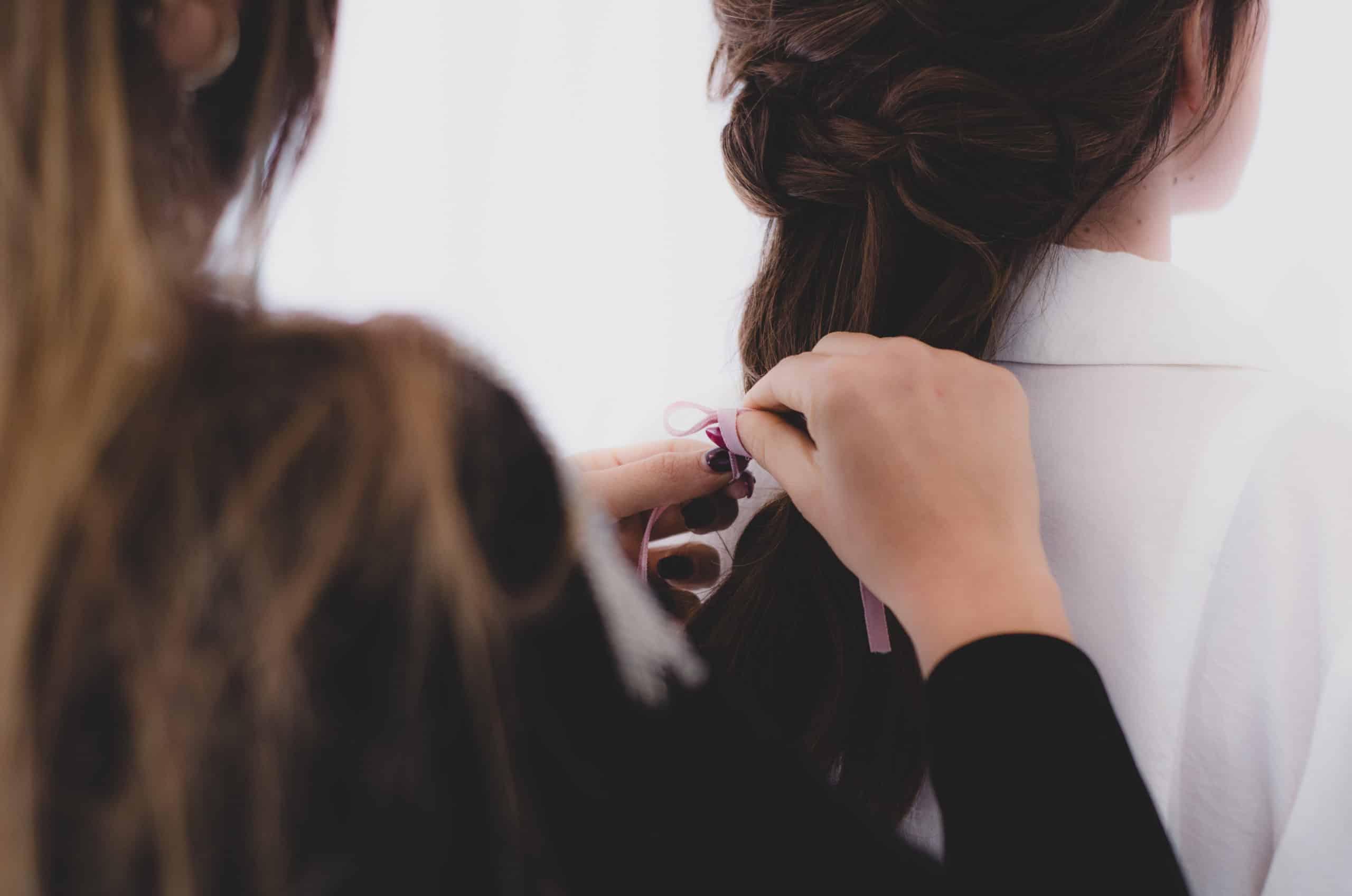 Peinado 2 en 1 para novia