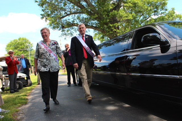 Bob and Judy Williams on Thursday, May 14, 2015. [Photo by John-Henry Doucette/The Princess Anne Independent News]