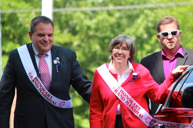 Rebecca and Jim Wood on Thursday, May 14, 2015 [John-Henry Doucette/The Princess Anne Independent News]