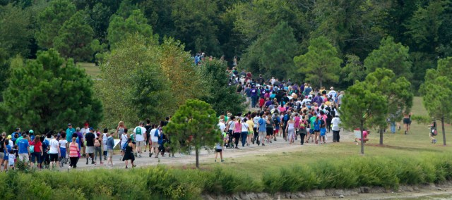 Thousands of people walked this past year during the Out of the Darkness Community Walk. This year's walk is scheduled for Saturday, Sept. 10, at Mt. Trashmore Park. [File/The Princess Anne Independent News]