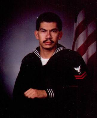 The author, then 26, serving the U.S. Navy. [Courtesy photo]