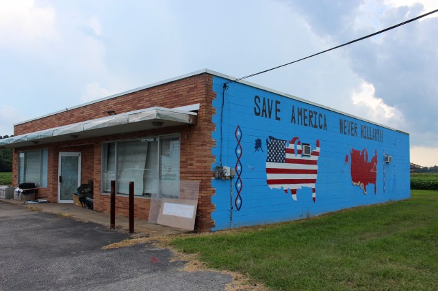 The mural in question. [The Princess Anne Independent News]