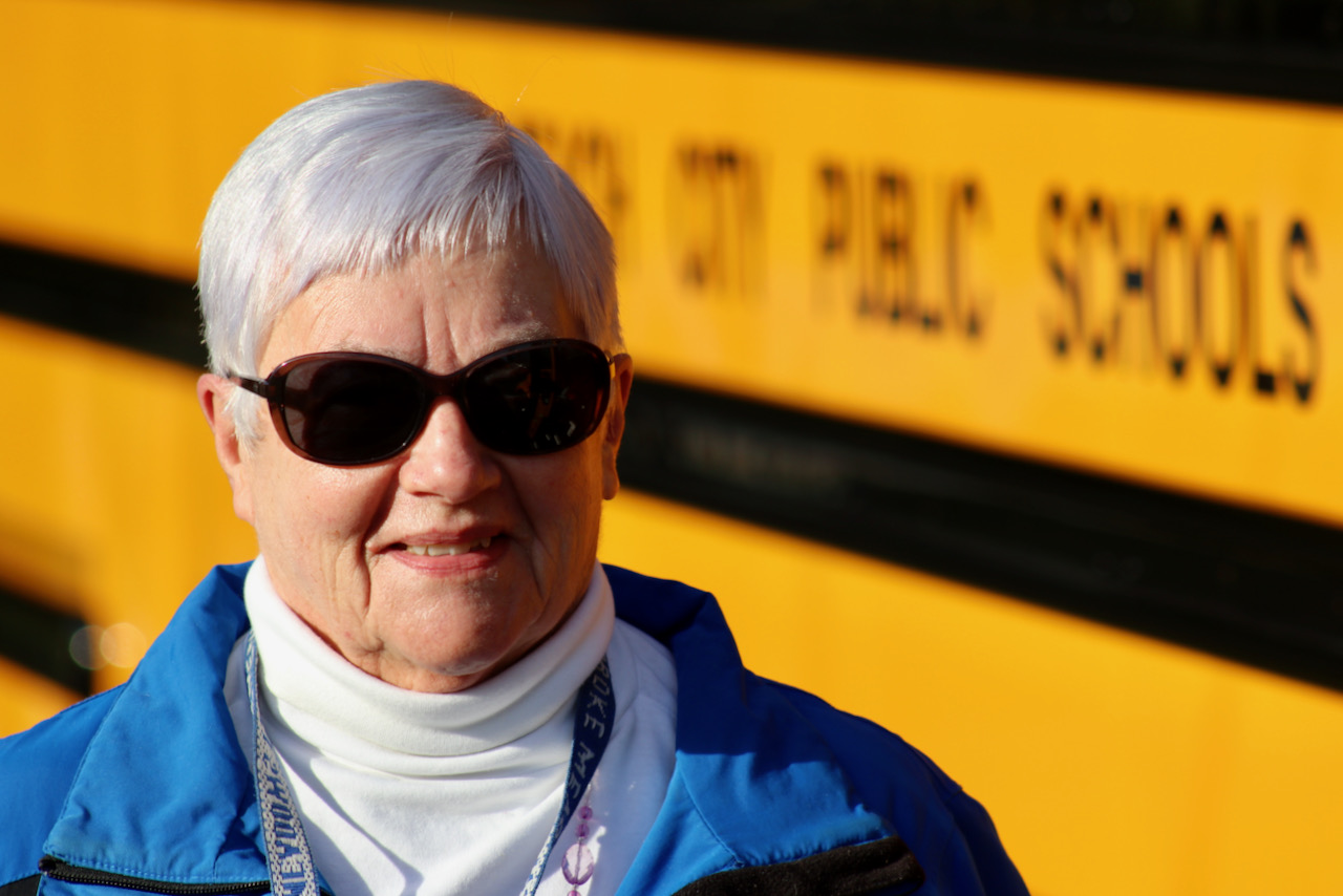 Recognizing long, loyal service by a Virginia Beach school bus driver