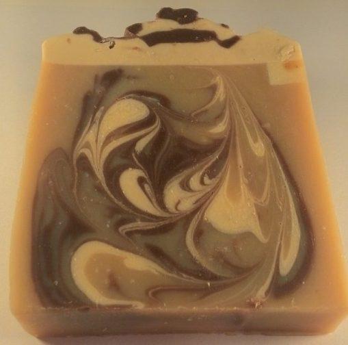 fetta torta sapone al cioccolato