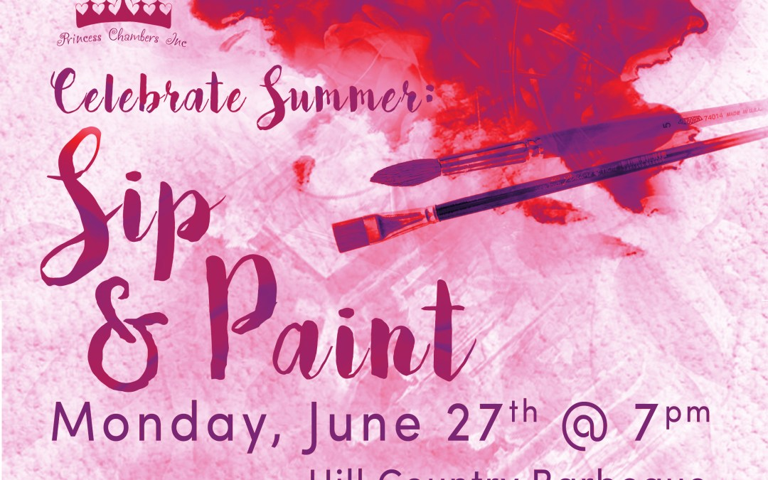 Sip and Paint Fundraiser – June 27, 2016