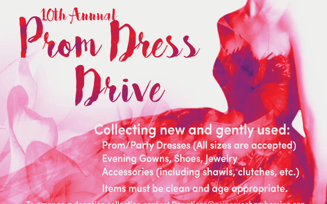 10th Annual Prom Dress Drive