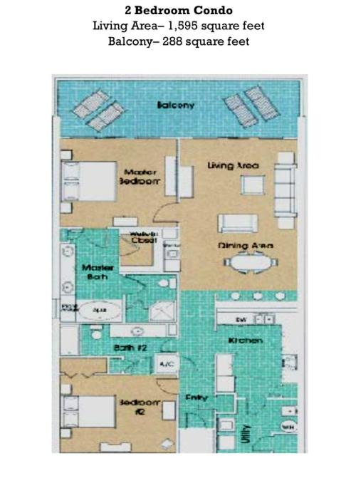 3 Plans 4 Bedrooms Floor Beachside Condo