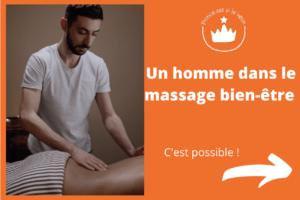 homme dans le massage bien etre