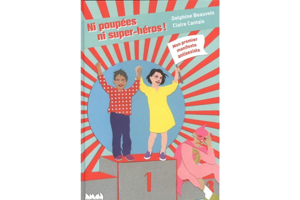 ni poupées ni super-héros littérature jeunesse non sexiste