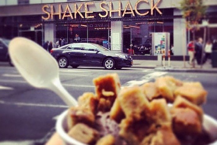 nyc shake shack | collaboration