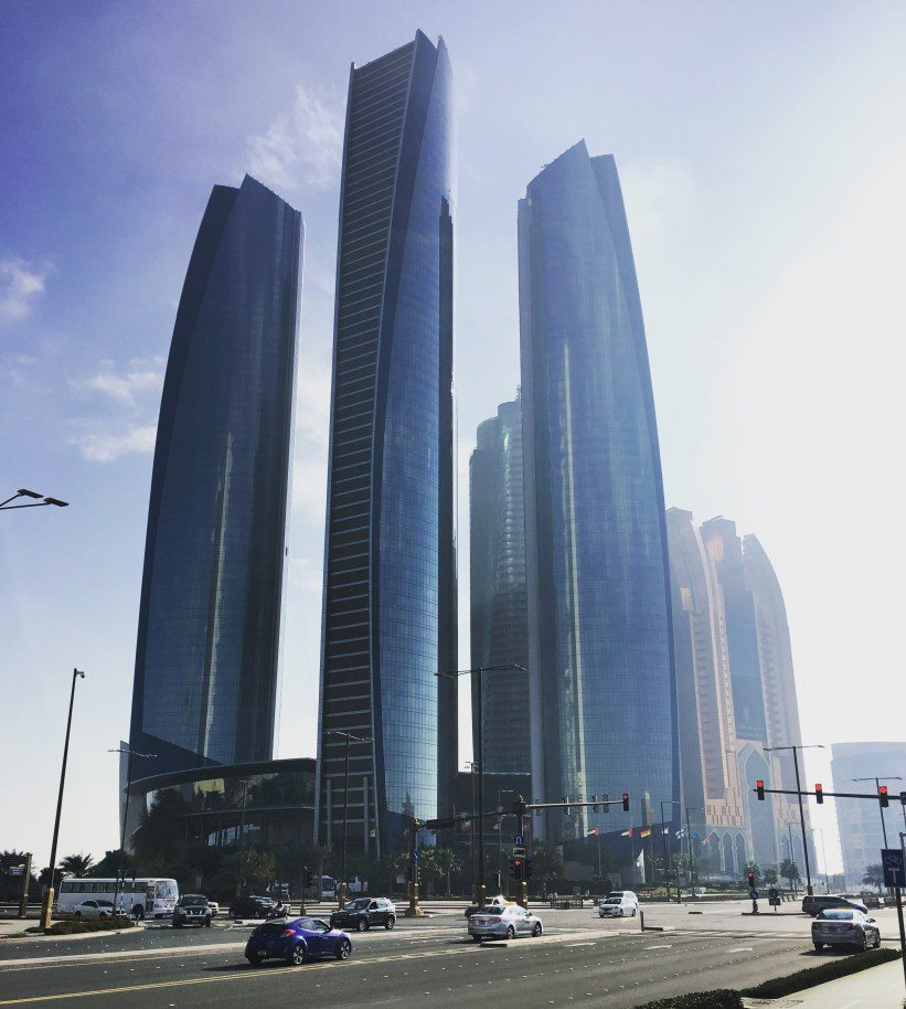 Abu Dhabi is a wonderful mix of beach, desert and sky scrapers | teach and travel part 2