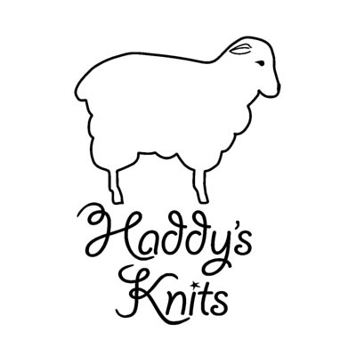 Haddy's Knits logo | Website Design