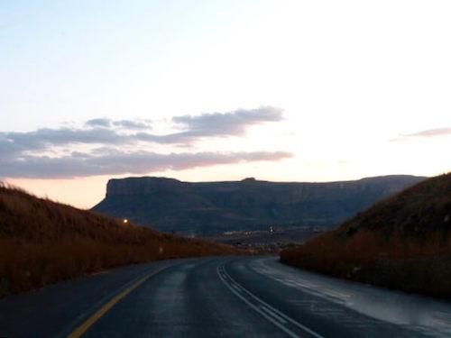 mountain road   Van Life