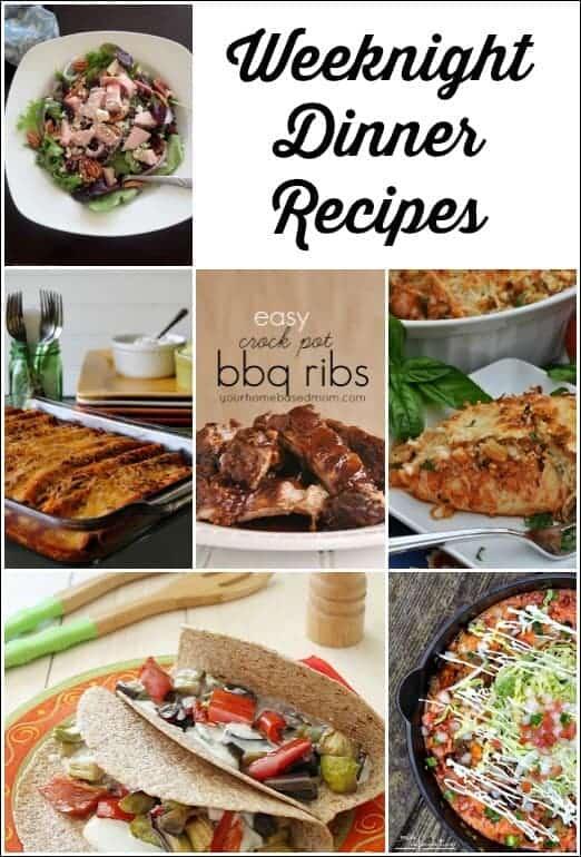 Weeknight Dinner Recipes