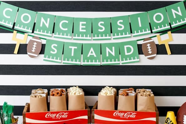 Concession Stand Banner free printable