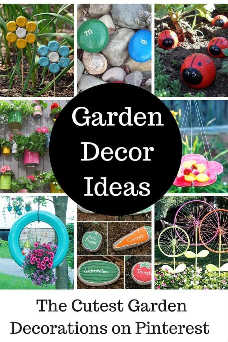 Cute Garden Ideas and Garden Decorations - Princess Pinky Girl on Garden Decor Ideas  id=46186