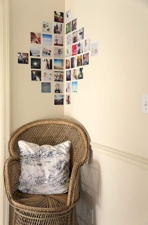 How to Create a Photo Gallery Wall -Templates and tips for ... on Creative Wall Art Ideas  id=28946