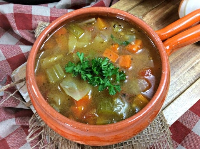Easy Instant Pot Cabbage Soup
