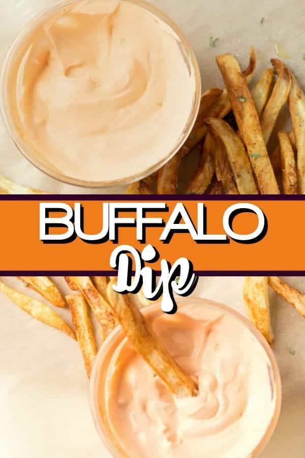 Easy Buffalo Dipping Sauce