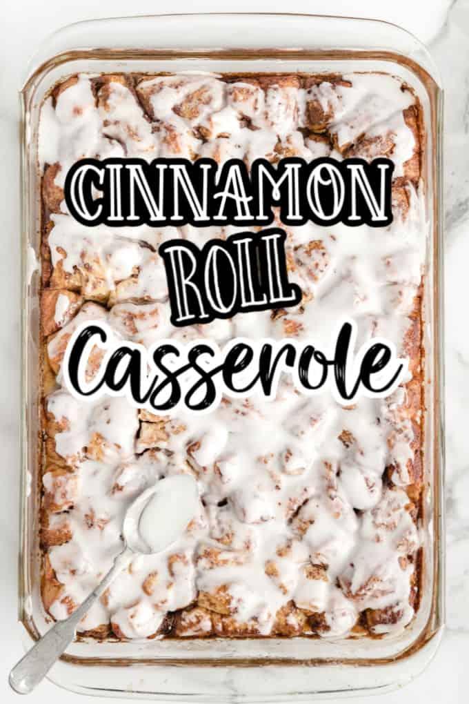 Pinterest 600 x 1200 - Cinnamon roll bake