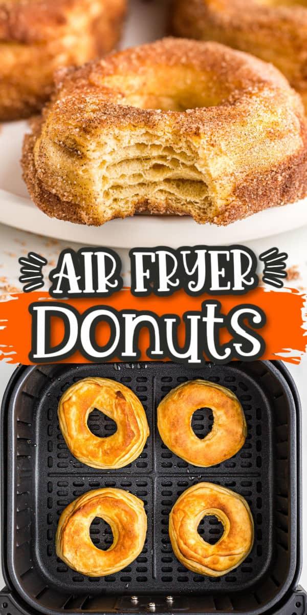 Pinterest 600 x 1200 - Air Fryer Donuts