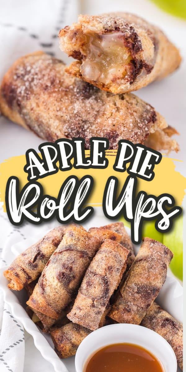 Apple pie roll ups pens