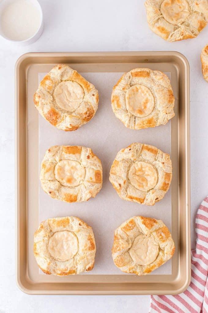 baked cream cheese Danish