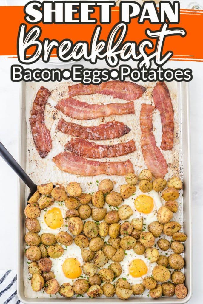 sheet pan breakfast pinterest