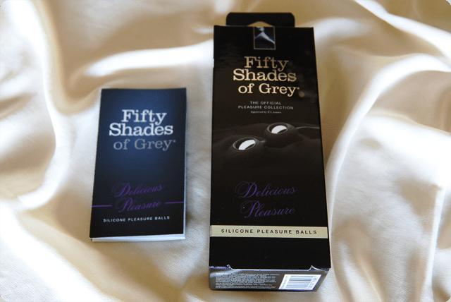 Fifty Shades of Grey Delicious Pleasure Silicone Ben Wa Balls Review 5
