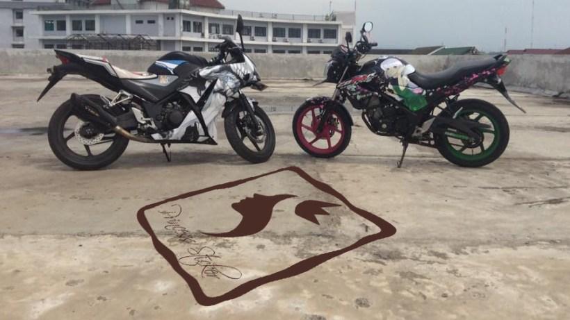 Pesan Striping Motor beat keren Di Rungkut Kidul