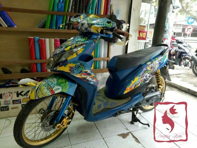 Toko Decal Motor Gaul Di Cirebon