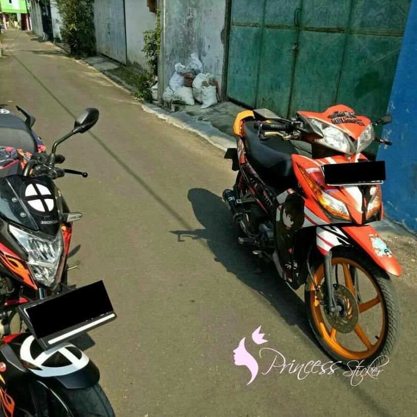 Jual Sticker Motor anak motor Di Surabaya