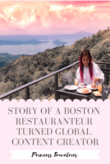 Story of a boston restauranteur turned content creator