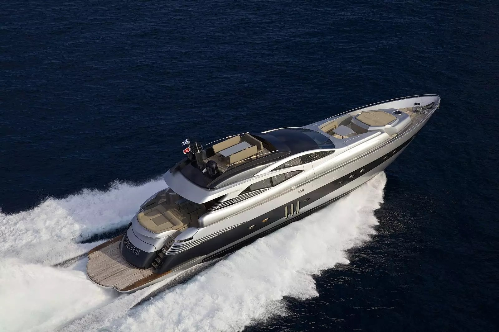 Charter Yacht SOLARIS In Greece Pershing 90